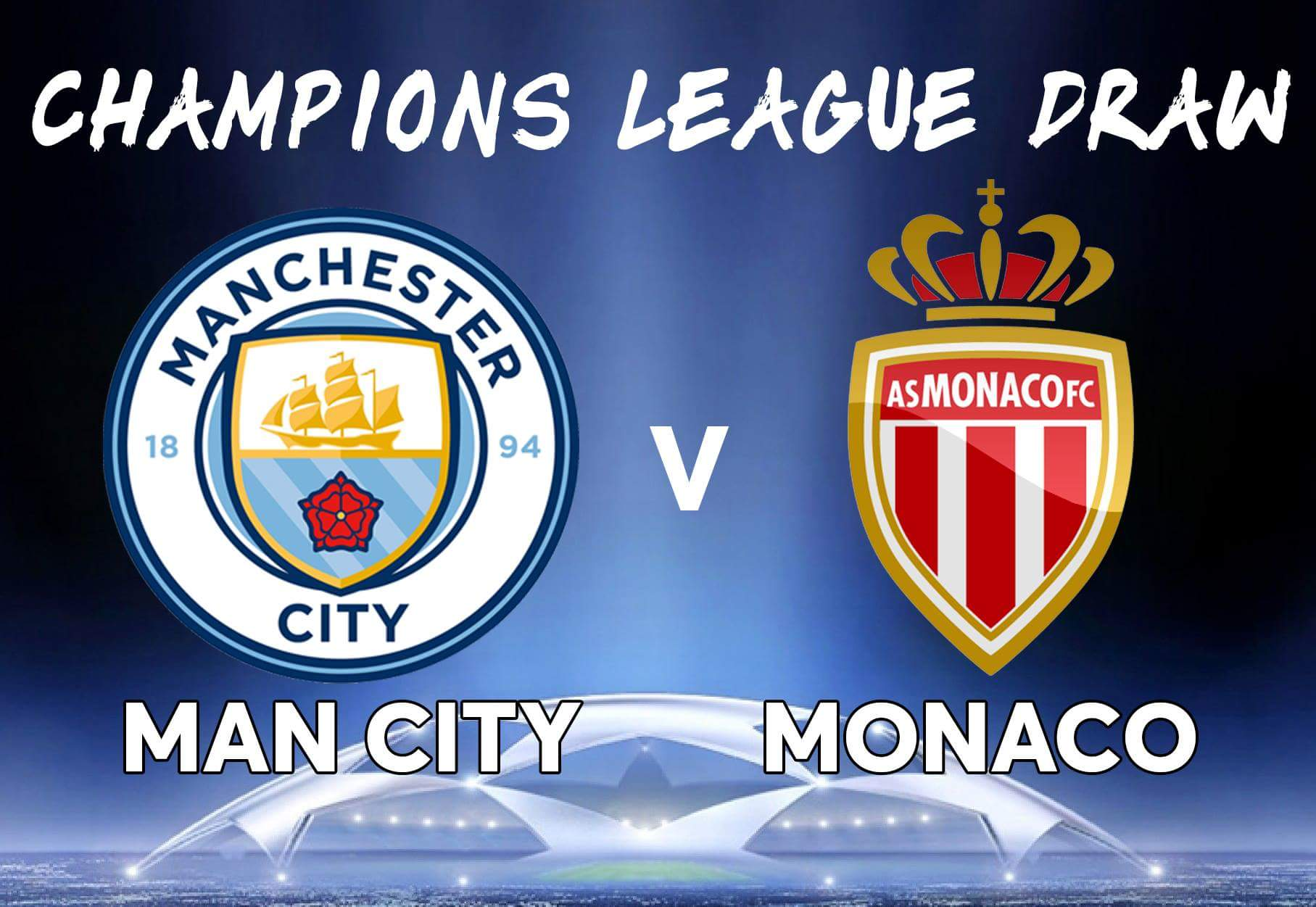 DIRETTA MANCHESTER CITY MONACO Streaming Gratis: info Rojadirecta, web links e in chiaro Canale 5