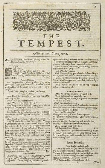 """""""Primeiro Fólio"""" (1623): é a primeira edição da coletânea das peças de #Shakespeare. Veja: https://t.co/sAZF370APq https://t.co/PWOOikdmp3"""