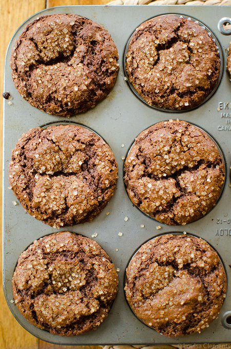 Whole Wheat Gingerbread Muffins — Living Lou