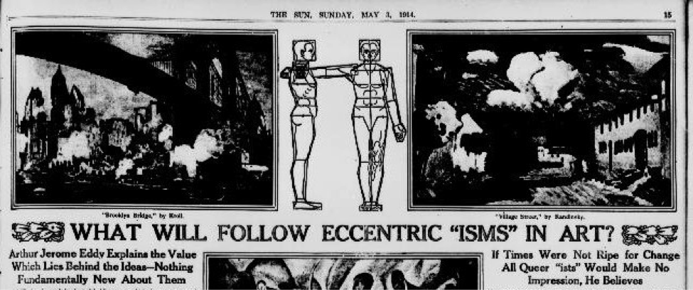 Wassily Kandinsky, abstract art pioneer born #OTD 1866. A meditation on the future of painting from 1914 #ChronAm https://t.co/NL4GJWIxrZ https://t.co/STUyXlIqQk