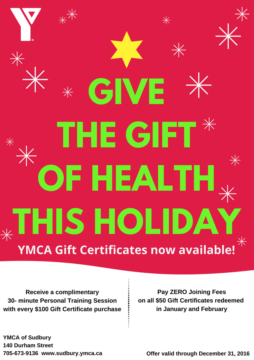 Ymca Sudbury On Twitter Receive A Complimentary 30 Minute Personal
