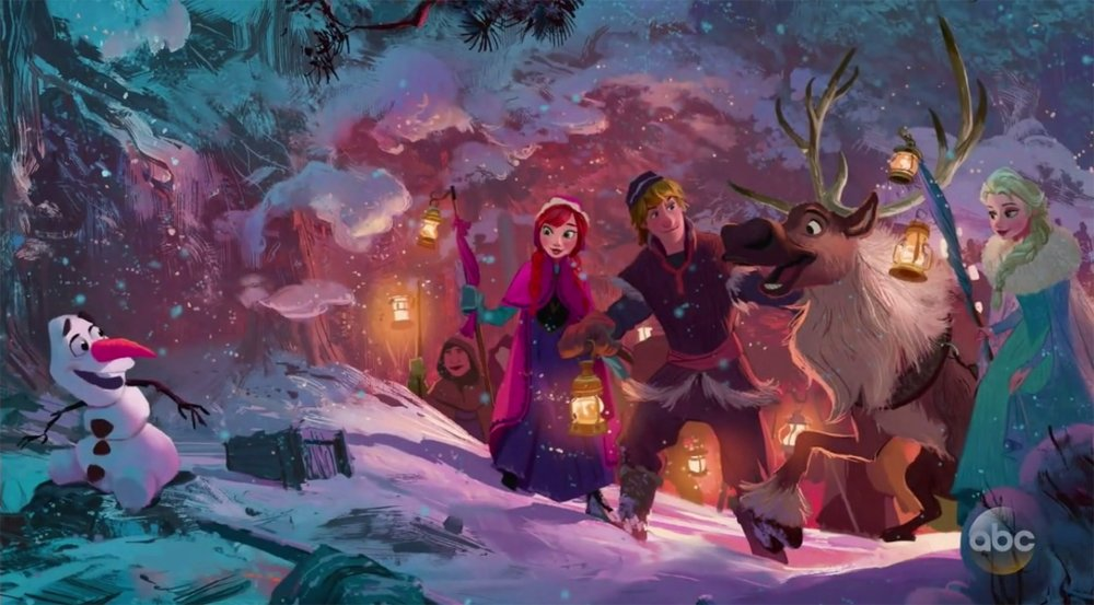 Joyeuses Fêtes avec Olaf [Cartoon Walt Disney - 2017] CzeuAZZXEAA7iln