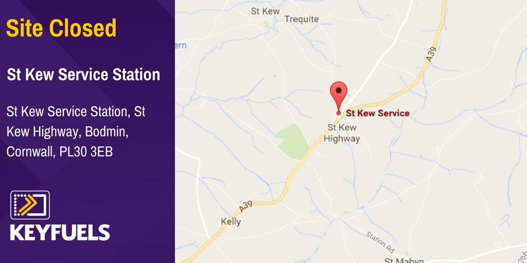 Nearest Service Station >> Keyfuels On Twitter Service Station Closed St Kew Service