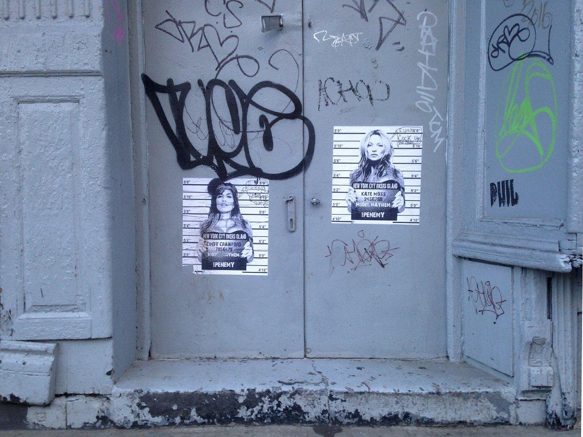 Model Mayhem  #EastVillage #2ndStreet #ModelMayhem #1penemy #doors #graffiti #MugShot