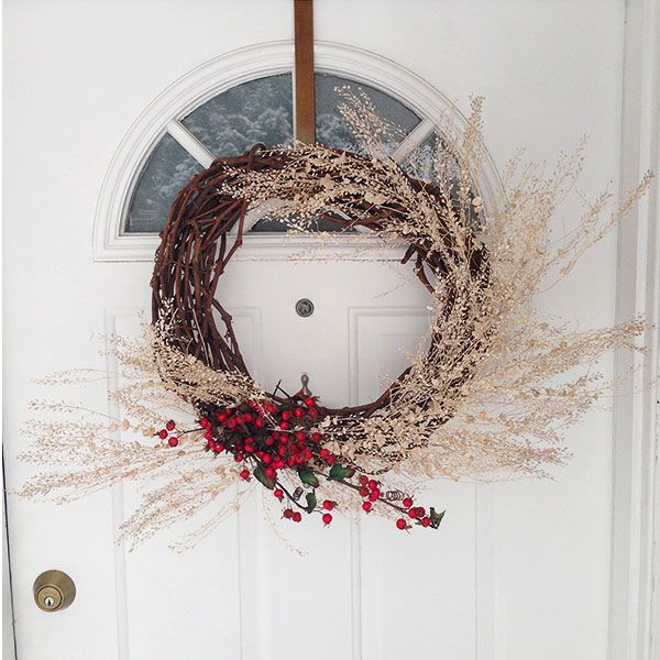 D.I.Y. Easy Winter Wreath