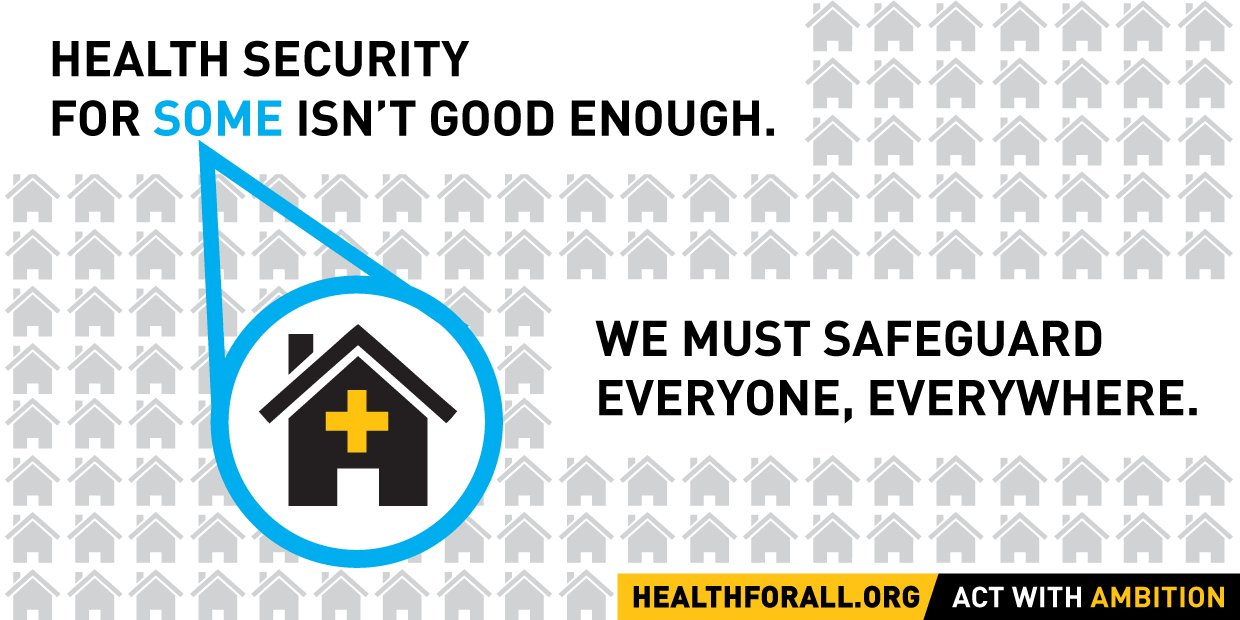 Let's hold our leaders accountable! #HealthForAll #SDG3 #UHC #UniversalHealthCoverage https://t.co/Jk7lVnr4zv