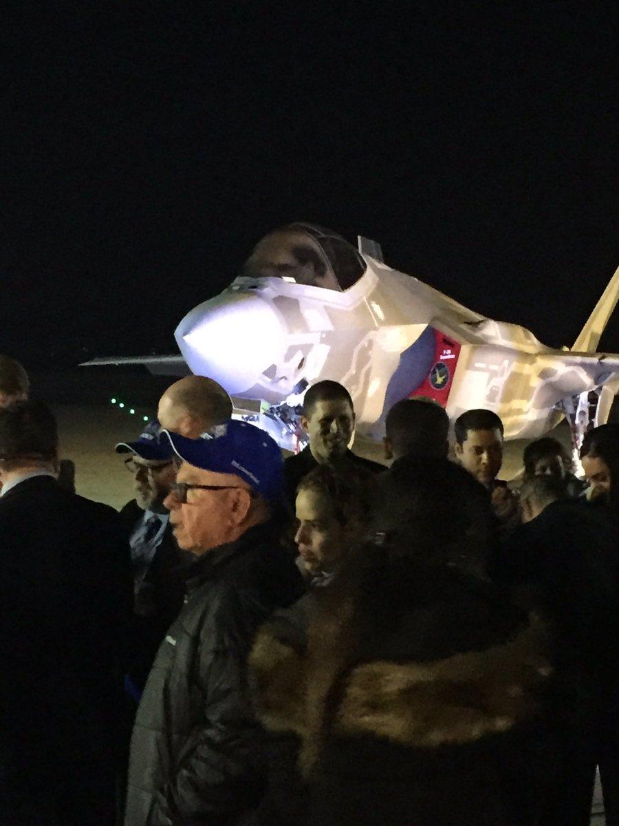 إسرائيل تتسلم أولى مقاتلات «إف 35» الأميركية في ديسمبر - صفحة 2 Czf5i5AWgAAu3B1