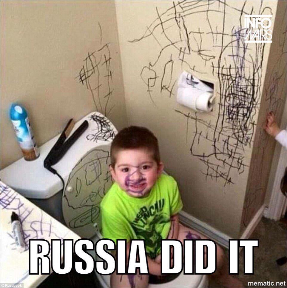 Afbeeldingsresultaat voor rusland hacked cartoon