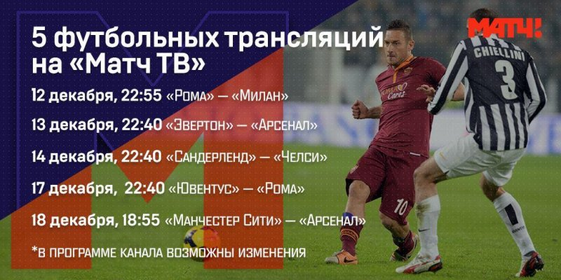 Милан- ювентус игра 14 декабрЯ