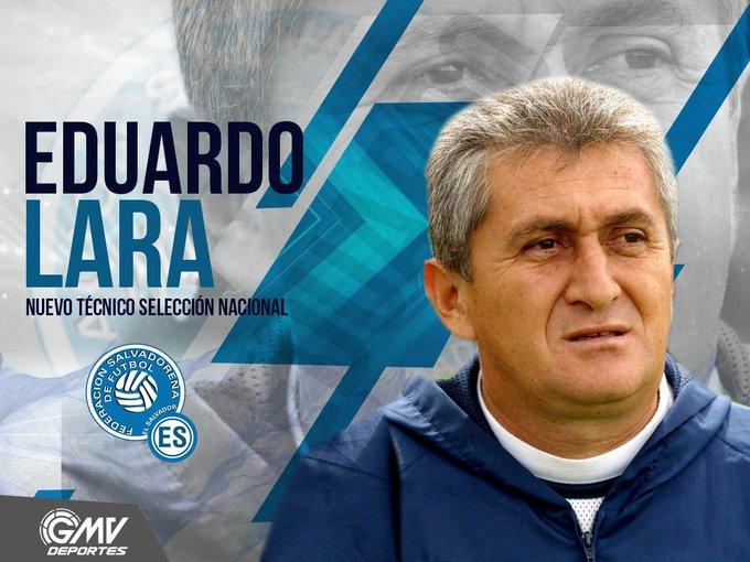 Eduardo Lara Moreno es el nuevo tecnico de El Salvador. CzfezL6WEAU9-NR