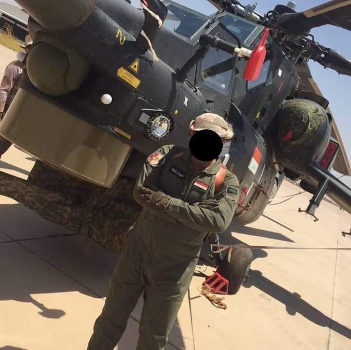 قيادة طيران الجيش تتسلم وجبة جديدة من طائرات mi28 CzfjL6RWEAARuPD