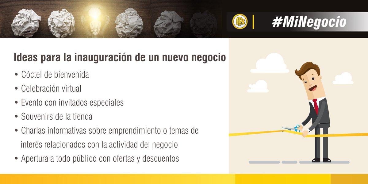 Banco Pichincha On Twitter Van A Inaugurar Su Negocio Propio
