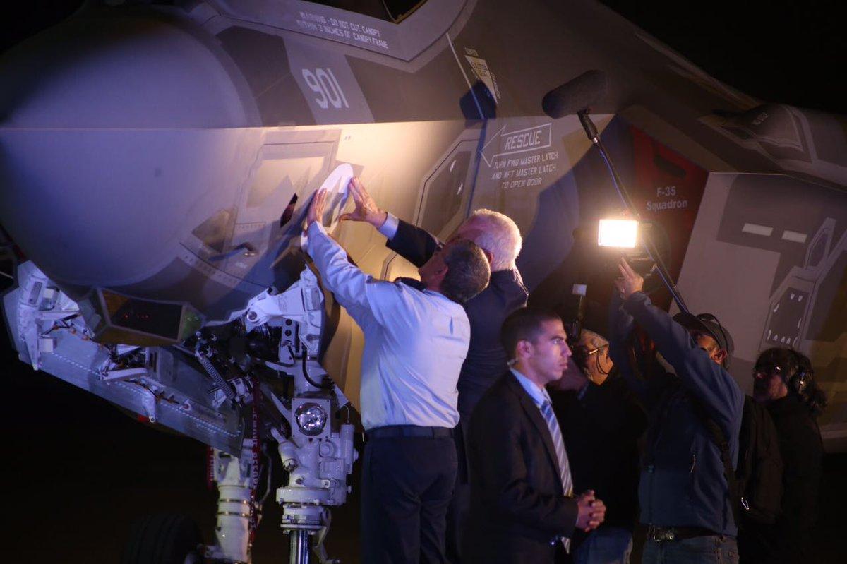 إسرائيل تتسلم أولى مقاتلات «إف 35» الأميركية في ديسمبر - صفحة 2 CzfzT_hWEAAsi_d