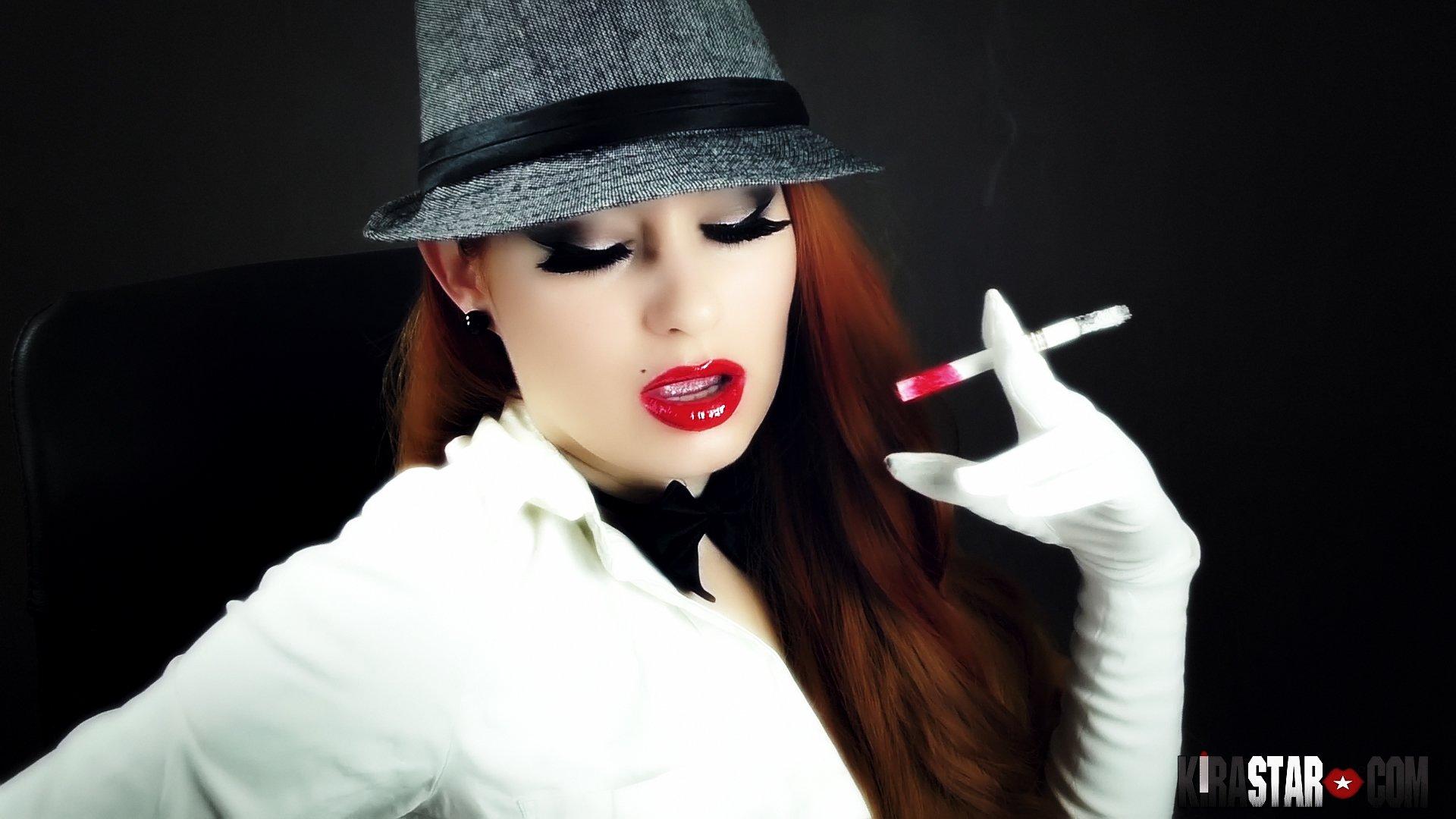 Smoking Mature Big Tits
