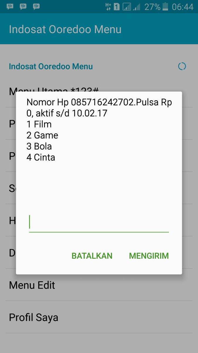 Indosat Ooredoo Care On Twitter Hai Kak Bisa Dm In Nama Nomor Im3 Rp0 Dan Waktu Kejadiannya Tq Tomo