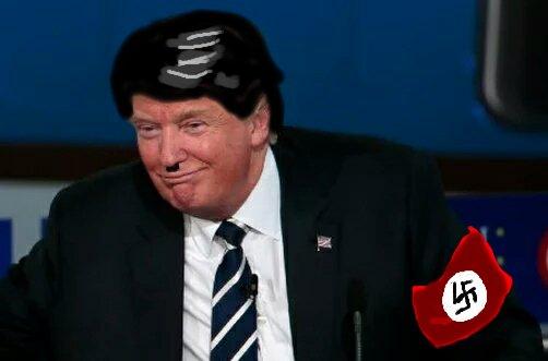 #Trump2016 #DonaldTrump #Trump #TangerineNightmare #PieceOfShit #sexist #racist #DumpTrump