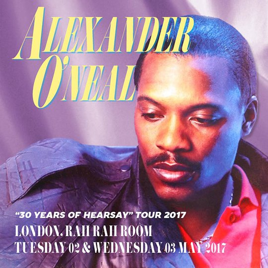 Alexander O Neal Hearsay Tour Review