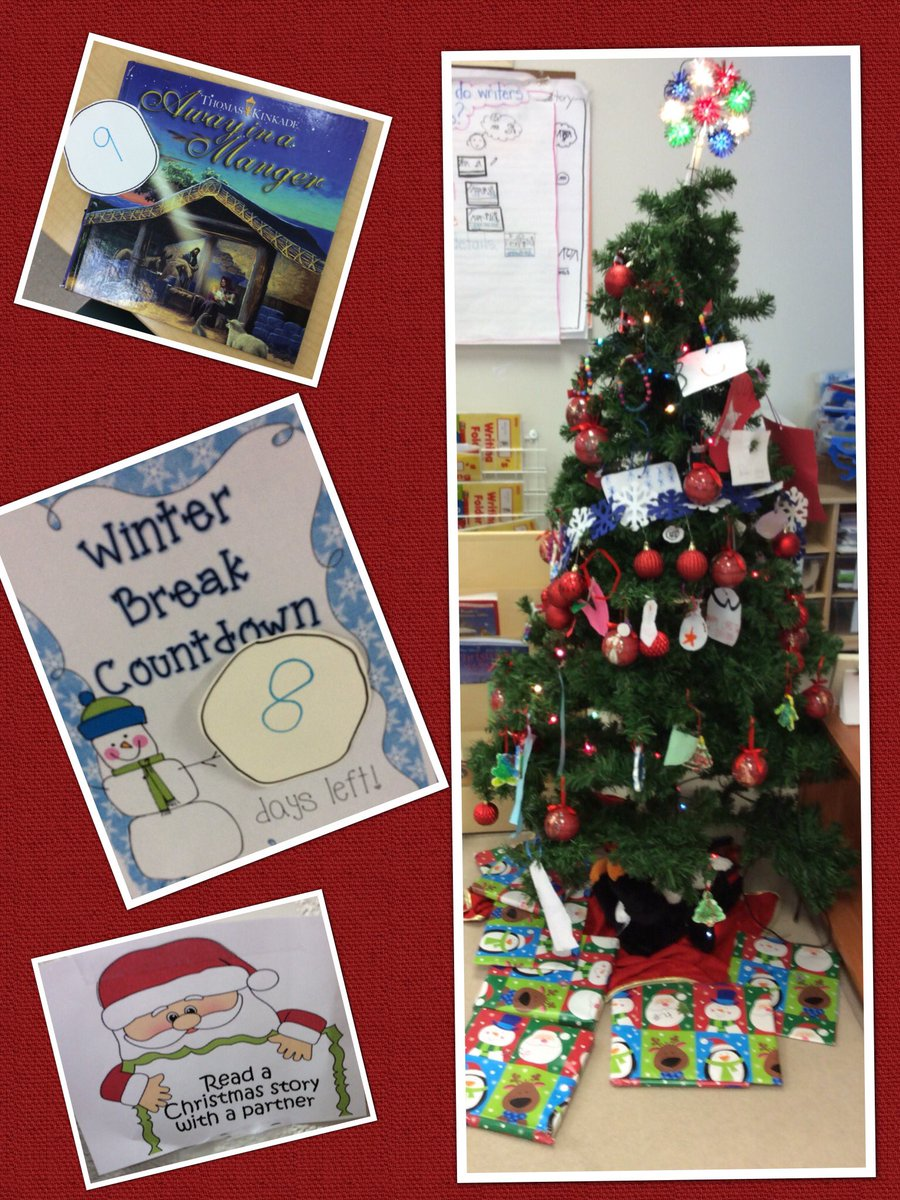 kindergarten b on twitter ask us about celebrating our christmas count down we danced and read a christmas story tomorrow is our christmas concert