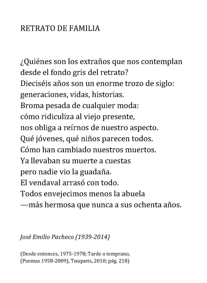 José Emilio Pacheco. Aniversario luctuoso CzgGmWVXgAQ1Wxh