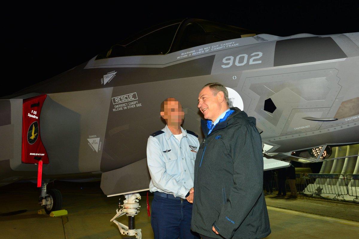 إسرائيل تتسلم أولى مقاتلات «إف 35» الأميركية في ديسمبر - صفحة 2 CzgOSQ3WEAAp15I