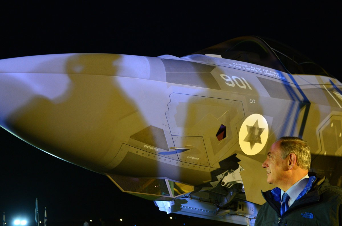 إسرائيل تتسلم أولى مقاتلات «إف 35» الأميركية في ديسمبر - صفحة 2 CzgOSQzW8AQCqU3