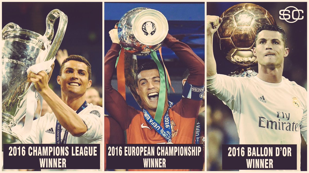 What a year for you @Cristiano