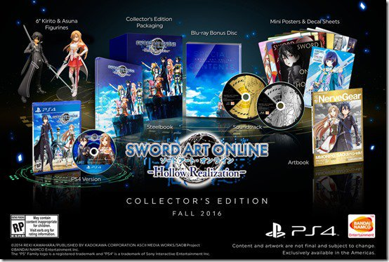 Win A Sword Art Online: Hollow Realization Collector's Edition https://t.co/SPyUQ3czJP https://t.co/9IaYcWsWzl