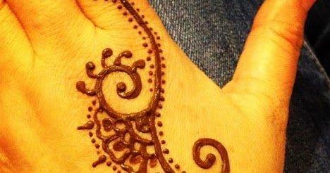Twitter पर Sabrina Aja 11 Gambar Henna Tangan Kiri Motif Simple Dan Mudah Ditiru Https T Co 37lg1nsdan