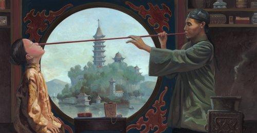 La variolización contra la #viruela ya se practicaba en China en el siglo XI y se introdujo en Gran Bretaña en 1721 #22ángeles https://t.co/TnQKa0sYJd