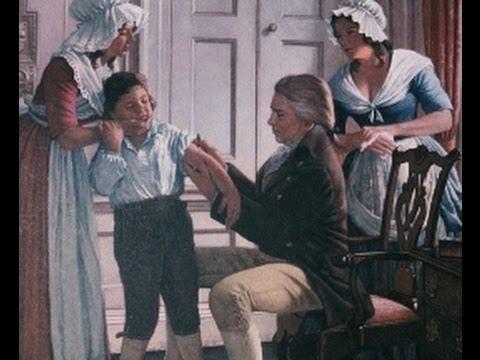 En 1796 Edward Jenner inocula al niño James Phipps con el virus de la #viruela de las vacas #22ángeles https://t.co/ROPgv4yp1y