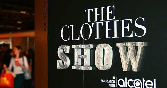 The Clothes Show 2016