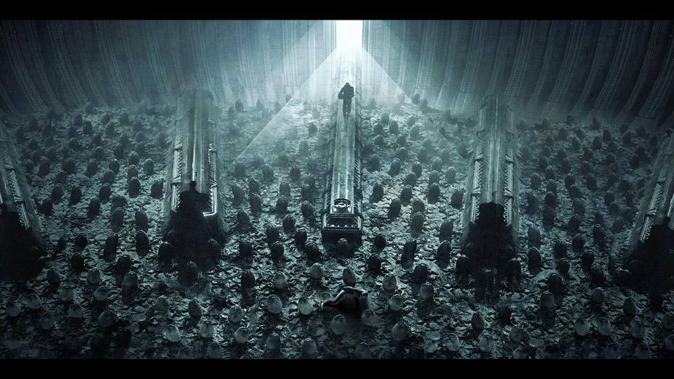 Alien covenant prometheusfilms twitter for Prometheus xenomorph mural