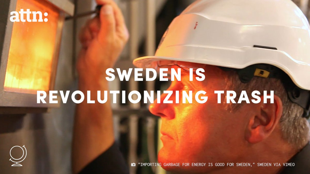 Sweden is so good at recycling that it's literally asking other countries for trash. https://t.co/9PMKNVmCwQ