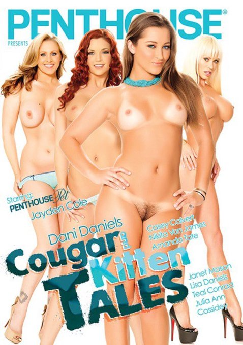 "1 pic. Check out my scene with the BEAUTIFUL @therealJuliaAnn for @Penthouse in ""Cougar & Kitten Tales"""