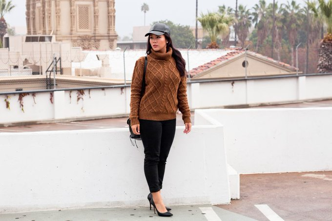 OOTD: Caramel (Sweater