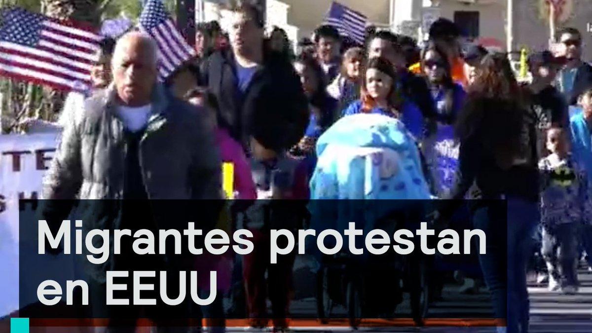 Migrantes mexicanos protestan en el paso texas para defender sus derechos y su dignidad - La hora en el paso texas ...