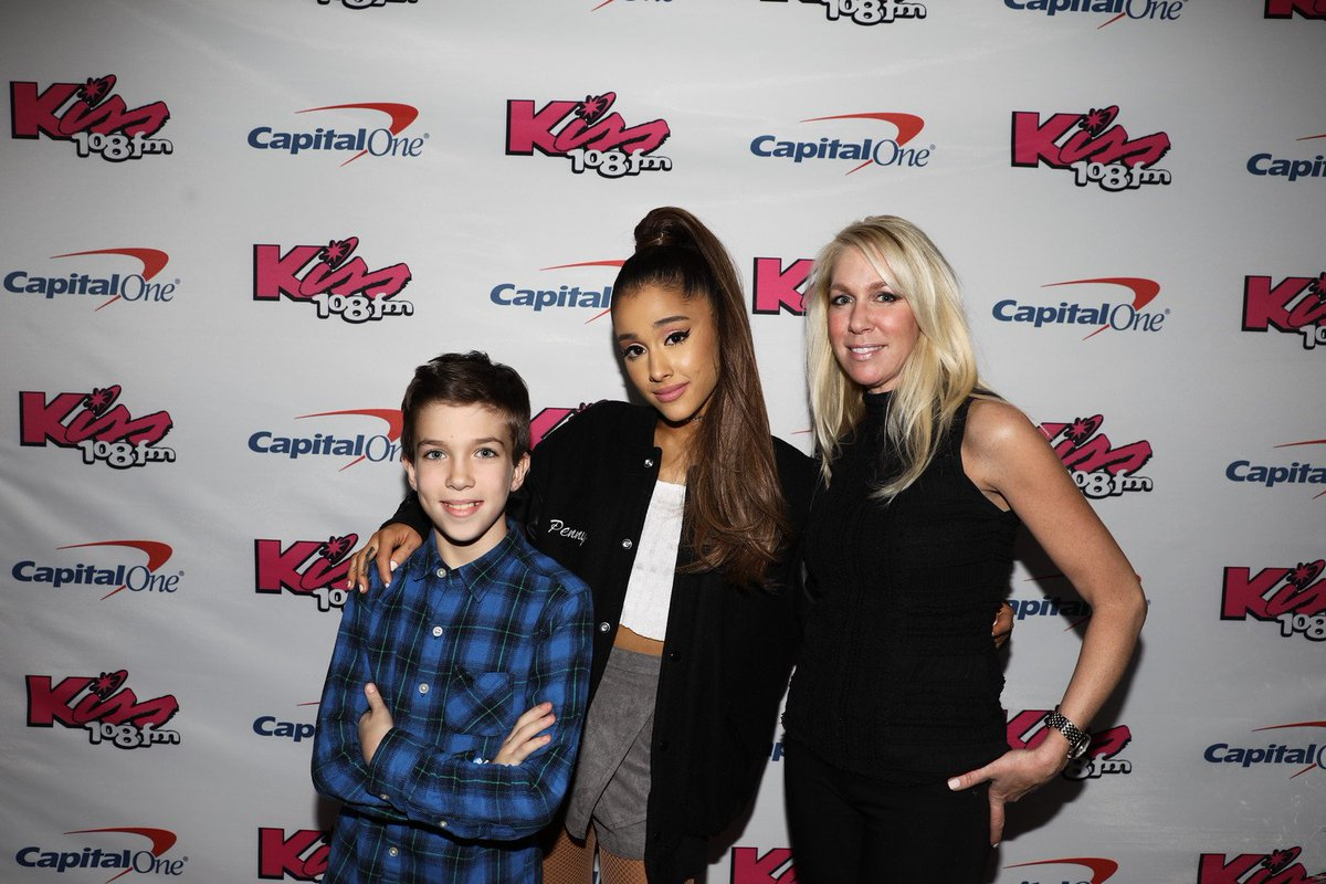 Ariana grande today on twitter hq photos arianas meet greet at ariana grande today on twitter hq photos arianas meet greet at the 2016 kiss 108 jingle ball in boston december 11 httpstqkrafjz8fa m4hsunfo