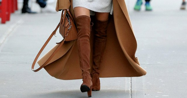 Okay, These Over-the-Knee Boot Outfits Are Epic