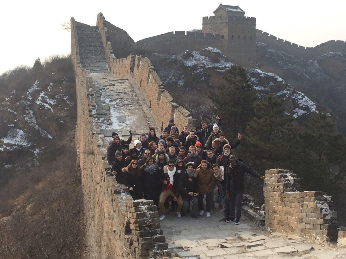 Premier jour en #Chine pour le Mastères Spécialisés CentraleSupélec Stratégie et Développement d&#39;Affaires Internationales #muraille de Chine <br>http://pic.twitter.com/NdptwCSLyu