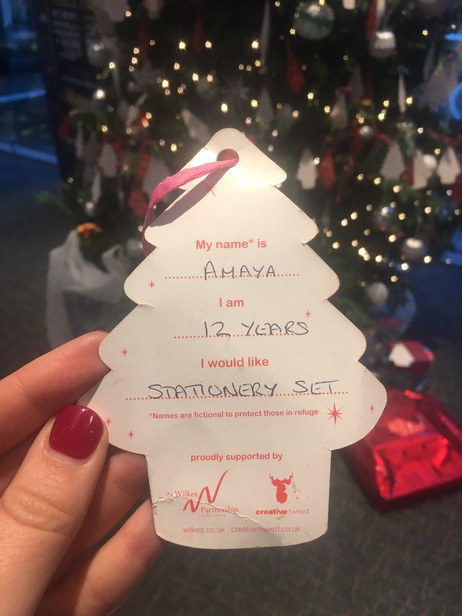 Christmas Giving Tree Ideas.Sam Goldring On Twitter Hope Amaya Likes Her Stationary