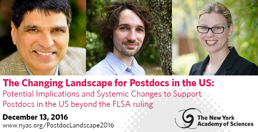 Thumbnail for @NYASciences #ScienceAlliance Postdoc FLSA salary webinar
