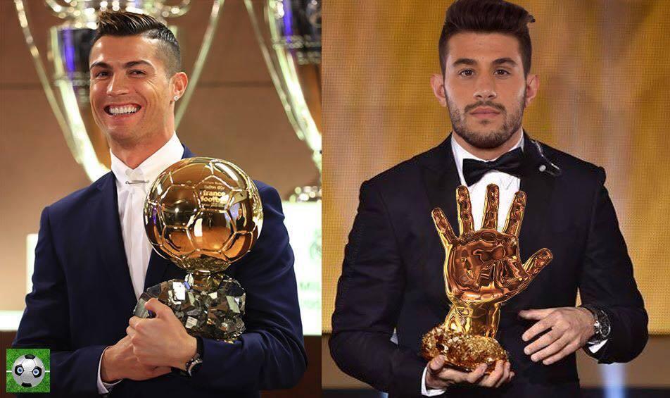 Cada um tem o que merece: A Bola de Ouro e Mão de Ouro: https://t.co/uGg8E2Ml12