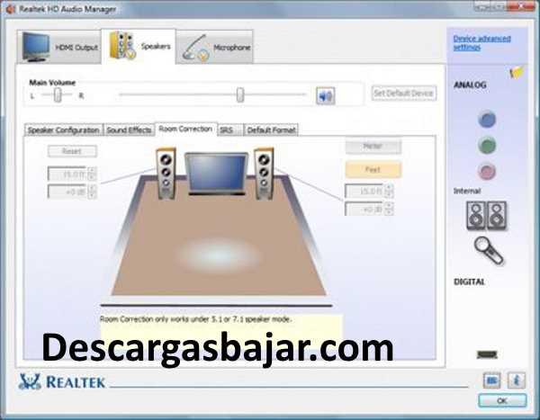 Диспетчер звука realtek hd для windows 10