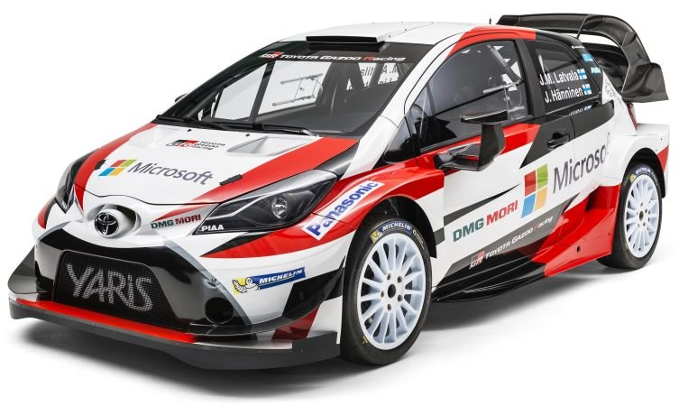WOW! @ToyotaGB new Yaris WRC car. https://t.co/EzPJD4mjak