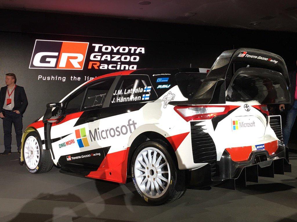 com noticias actualidad del motor item 12515 toyota gazoo racing wrc presenta a jari matti latvala y juho haenninen y al yaris wrc html
