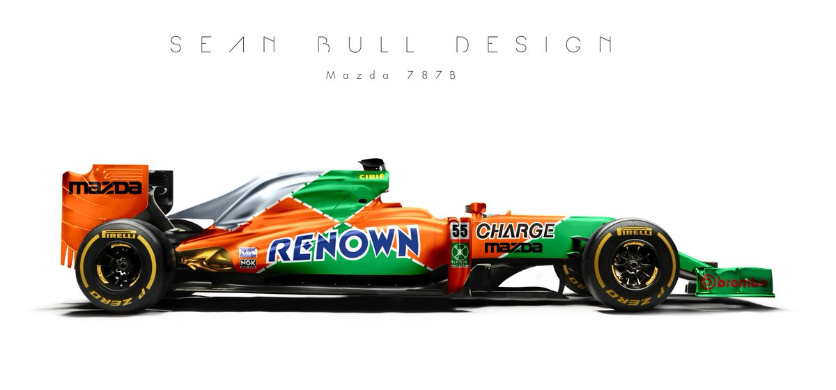 Sean Bull Design On Twitter Some Iconic Non F1 Liveries New Template Aswelllet Me Know What Other Youd Like To See
