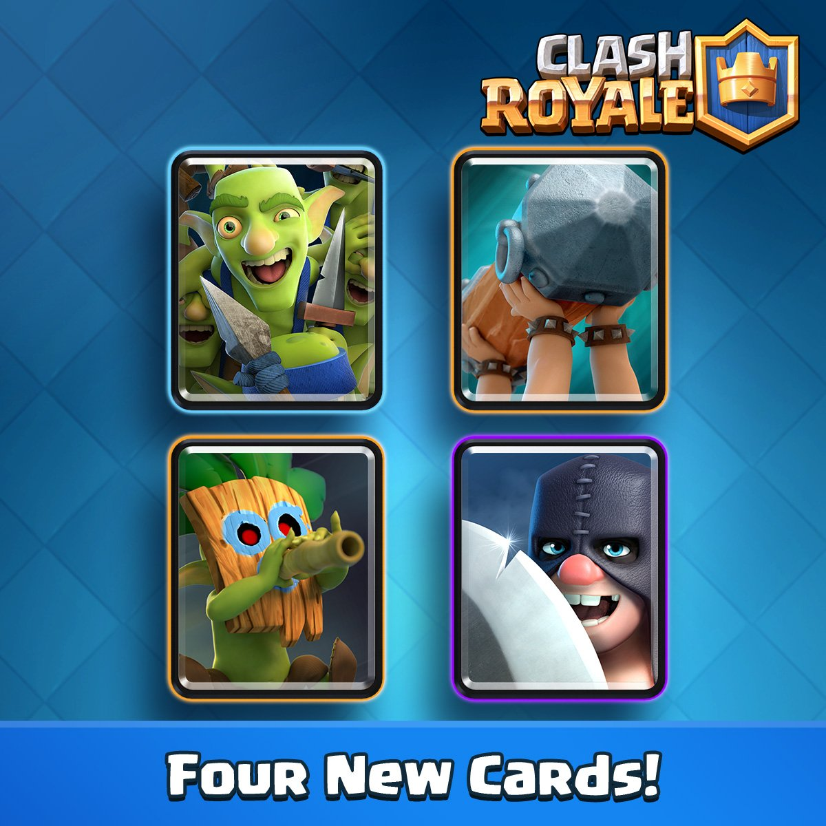 Clash Royale On Twitter Sneak Peek 2 Four New Cards