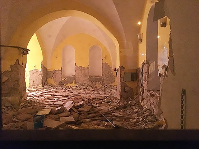 This Jerusalem church was destroyed by Muslims two weeks ago. No one reported it. https://t.co/72Acz9pjCY https://t.co/s083ymolIa