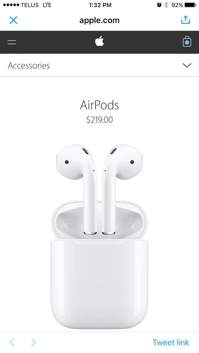 news about airpods on twitter. Black Bedroom Furniture Sets. Home Design Ideas