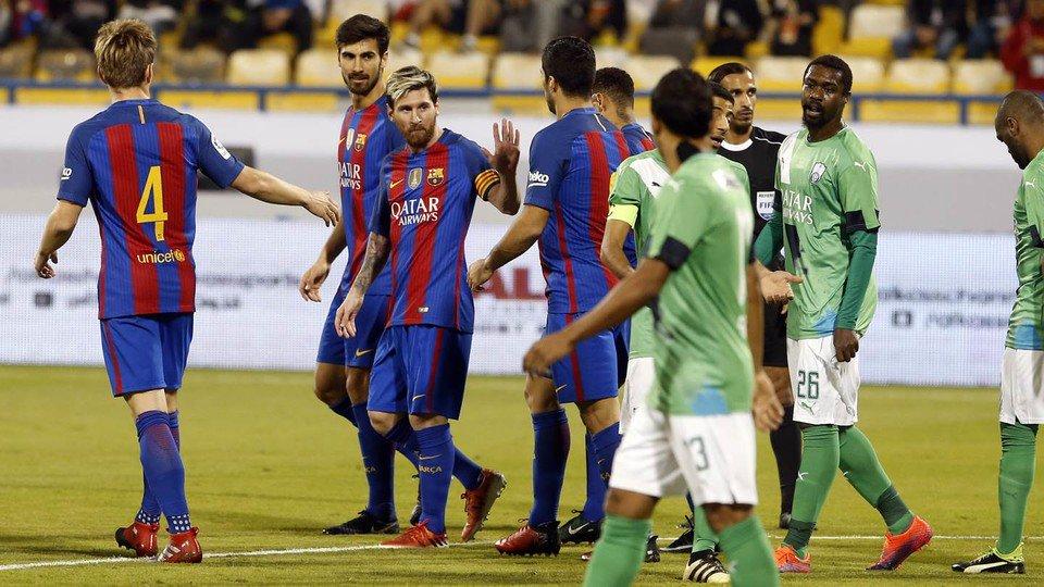 Video: Al Ahli vs Barcelona